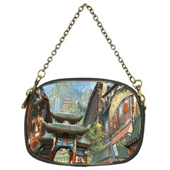 Japanese Art Painting Fantasy Chain Purses (one Side)