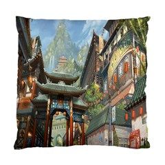 Japanese Art Painting Fantasy Standard Cushion Case (two Sides)