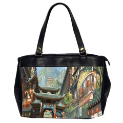 Japanese Art Painting Fantasy Office Handbags (2 Sides)