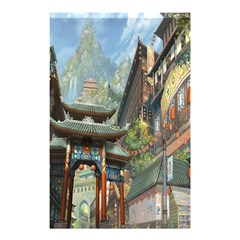 Japanese Art Painting Fantasy Shower Curtain 48  x 72  (Small)