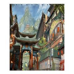 Japanese Art Painting Fantasy Shower Curtain 60  x 72  (Medium)