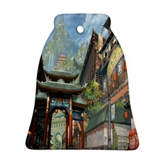 Japanese Art Painting Fantasy Bell Ornament (two Sides)
