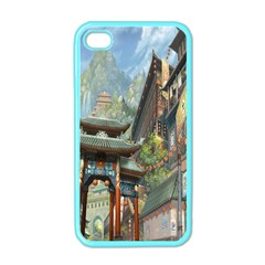 Japanese Art Painting Fantasy Apple iPhone 4 Case (Color)