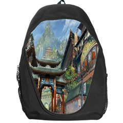 Japanese Art Painting Fantasy Backpack Bag