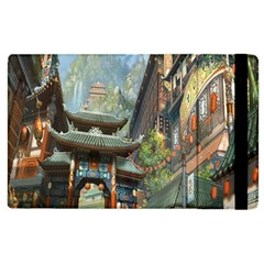 Japanese Art Painting Fantasy Apple Ipad 2 Flip Case