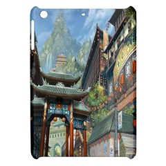 Japanese Art Painting Fantasy Apple iPad Mini Hardshell Case