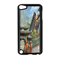 Japanese Art Painting Fantasy Apple iPod Touch 5 Case (Black)