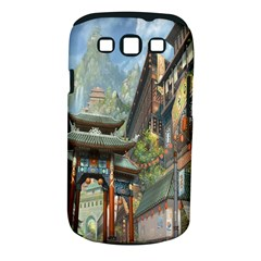 Japanese Art Painting Fantasy Samsung Galaxy S Iii Classic Hardshell Case (pc+silicone)