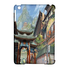 Japanese Art Painting Fantasy Apple Ipad Mini Hardshell Case (compatible With Smart Cover)