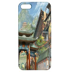 Japanese Art Painting Fantasy Apple Iphone 5 Hardshell Case With Stand