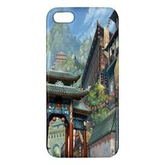 Japanese Art Painting Fantasy Apple Iphone 5 Premium Hardshell Case