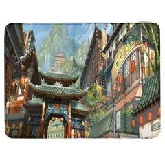 Japanese Art Painting Fantasy Samsung Galaxy Tab 7  P1000 Flip Case