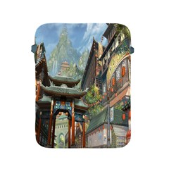 Japanese Art Painting Fantasy Apple Ipad 2/3/4 Protective Soft Cases