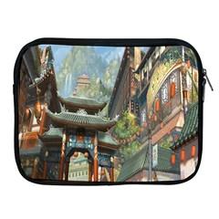 Japanese Art Painting Fantasy Apple iPad 2/3/4 Zipper Cases