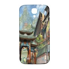 Japanese Art Painting Fantasy Samsung Galaxy S4 I9500/I9505  Hardshell Back Case