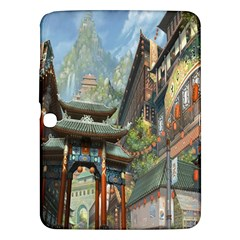 Japanese Art Painting Fantasy Samsung Galaxy Tab 3 (10 1 ) P5200 Hardshell Case