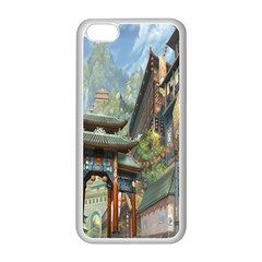 Japanese Art Painting Fantasy Apple Iphone 5c Seamless Case (white)