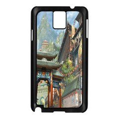Japanese Art Painting Fantasy Samsung Galaxy Note 3 N9005 Case (Black)