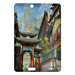 Japanese Art Painting Fantasy Amazon Kindle Fire HD (2013) Hardshell Case