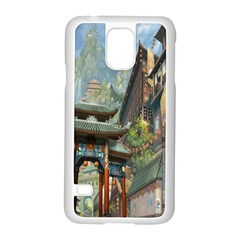 Japanese Art Painting Fantasy Samsung Galaxy S5 Case (White)