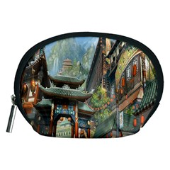 Japanese Art Painting Fantasy Accessory Pouches (medium)