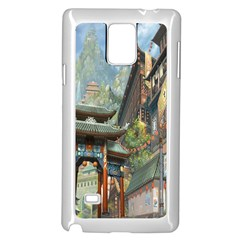 Japanese Art Painting Fantasy Samsung Galaxy Note 4 Case (white)