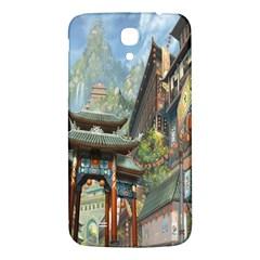 Japanese Art Painting Fantasy Samsung Galaxy Mega I9200 Hardshell Back Case