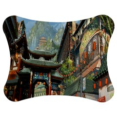 Japanese Art Painting Fantasy Jigsaw Puzzle Photo Stand (bow)