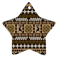 African Vector Patterns Ornament (Star)