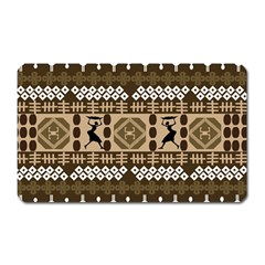 African Vector Patterns Magnet (rectangular)