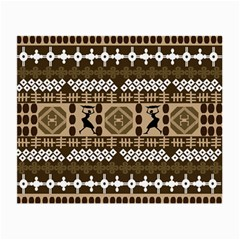 African Vector Patterns Small Glasses Cloth