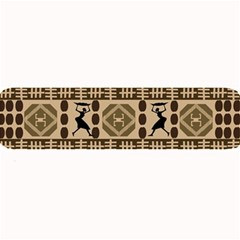African Vector Patterns Large Bar Mats