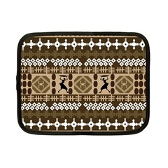 African Vector Patterns Netbook Case (small)