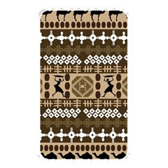 African Vector Patterns Memory Card Reader