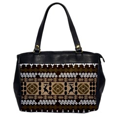 African Vector Patterns Office Handbags
