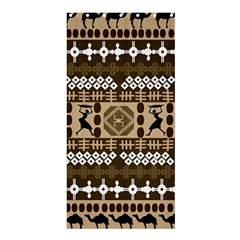 African Vector Patterns Shower Curtain 36  X 72  (stall)