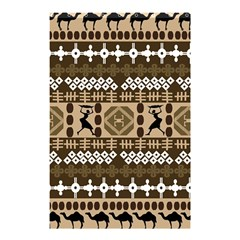 African Vector Patterns Shower Curtain 48  X 72  (small)