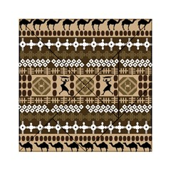 African Vector Patterns Acrylic Tangram Puzzle (6  X 6 )