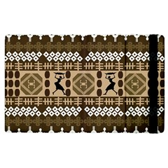 African Vector Patterns Apple Ipad 3/4 Flip Case