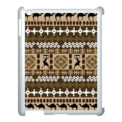 African Vector Patterns Apple Ipad 3/4 Case (white)