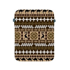 African Vector Patterns Apple Ipad 2/3/4 Protective Soft Cases