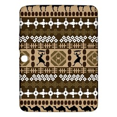 African Vector Patterns Samsung Galaxy Tab 3 (10 1 ) P5200 Hardshell Case