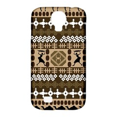 African Vector Patterns Samsung Galaxy S4 Classic Hardshell Case (PC+Silicone)