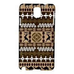 African Vector Patterns Samsung Galaxy Note 3 N9005 Hardshell Case