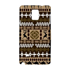 African Vector Patterns Samsung Galaxy Note 4 Hardshell Case