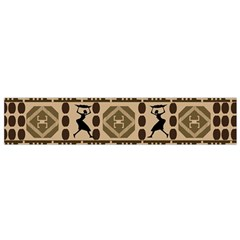African Vector Patterns Flano Scarf (small)