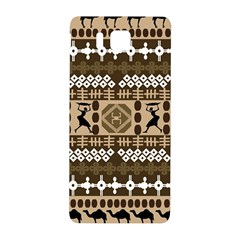African Vector Patterns Samsung Galaxy Alpha Hardshell Back Case