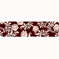 Flower Leaf Pink Brown Floral Large Bar Mats