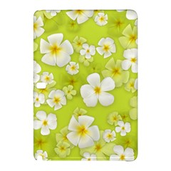 Frangipani Flower Floral White Green Samsung Galaxy Tab Pro 12.2 Hardshell Case