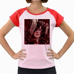 Beautiful Women Fantasy Art Women s Cap Sleeve T Shirt